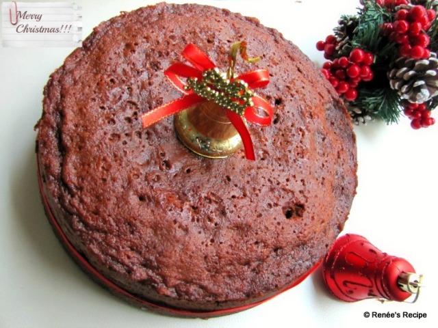 Kerala Christmas Fruit / Plum Cake