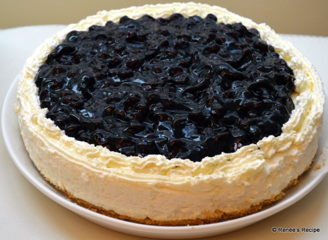 Blueberry Cheesecake4